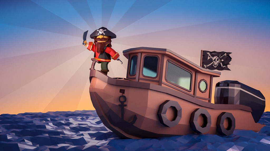 Pirate boat preview image 1