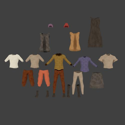 Cloth library preview image