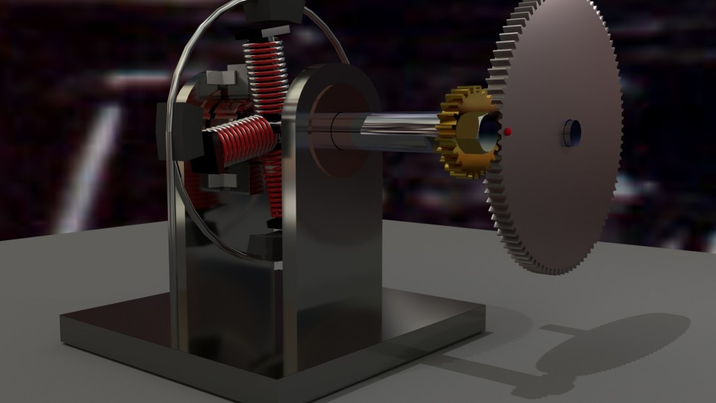 Electric motor concept preview image 1