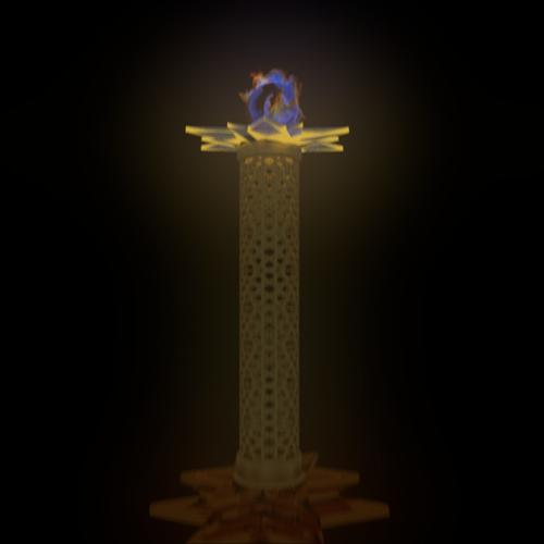 Revelation 1 Golden Lamp Stand ver 1 preview image