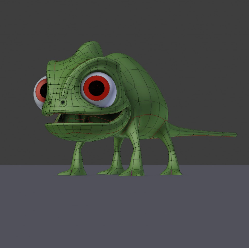 Pascal Chameleon Tangled preview image 2