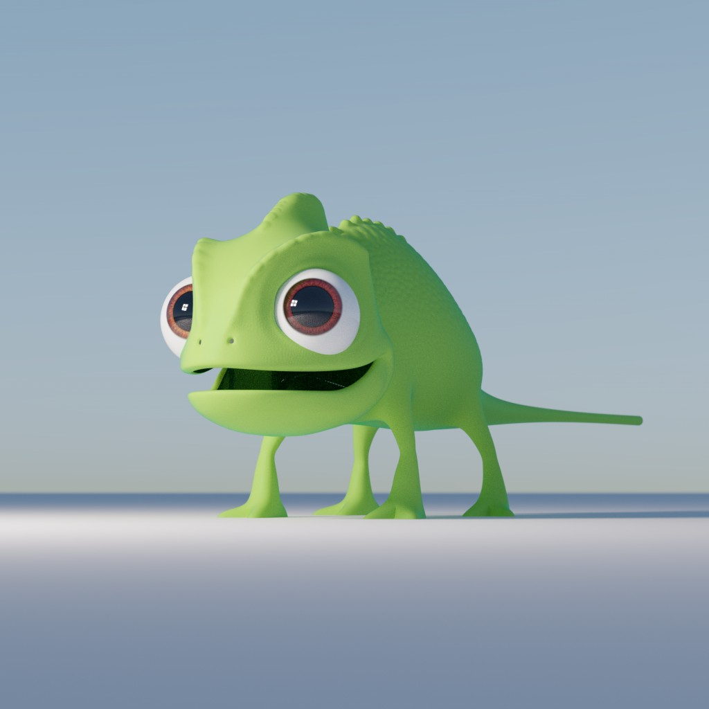 Pascal Chameleon Tangled preview image 1