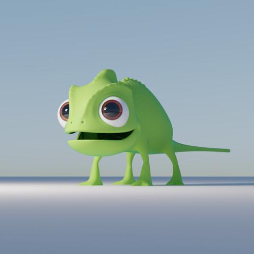 Pascal Chameleon Tangled preview image