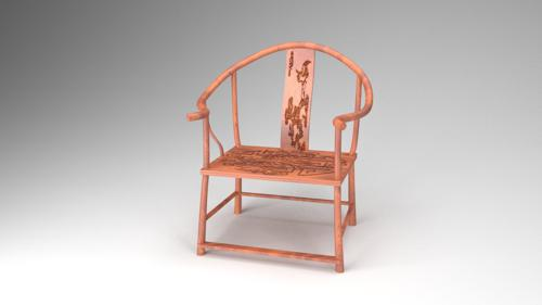 Traditional Chinese Chair preview image