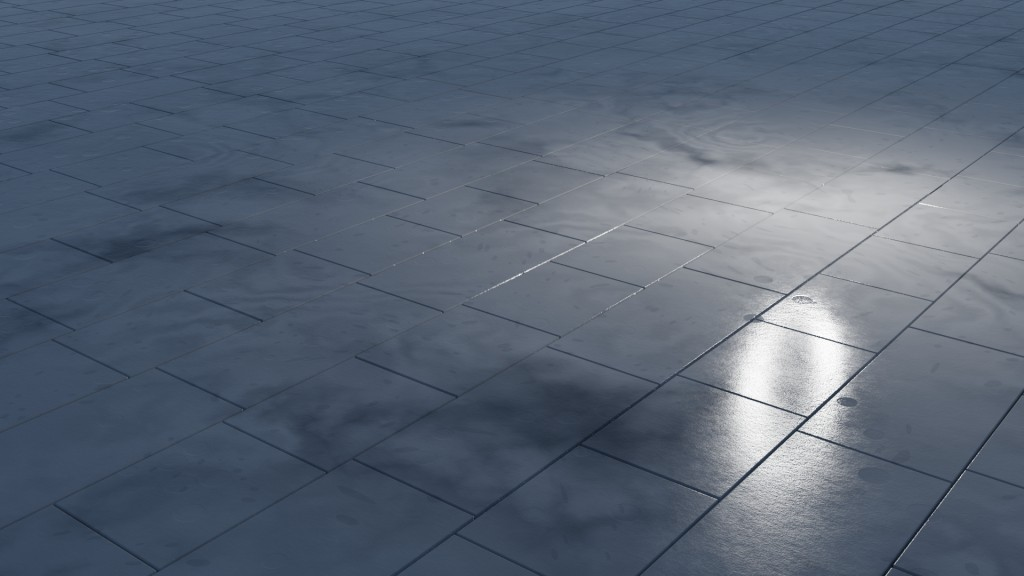 Procedural Marble Tiles Material  preview image 1
