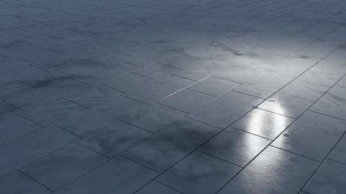 Procedural Marble Tiles Material  preview image