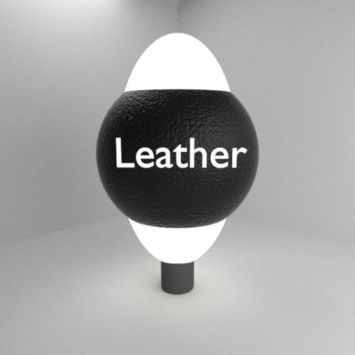 Procedural Leather Material preview image