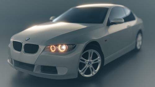BMW 335i By Mike Pan (Converted for Cycles) preview image