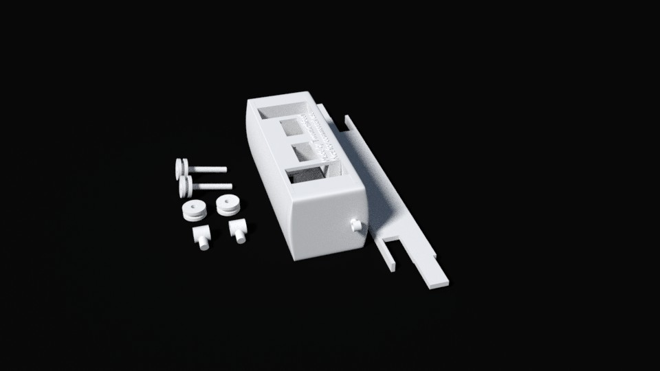 3D printable BR-01 small passenger coach set preview image 2