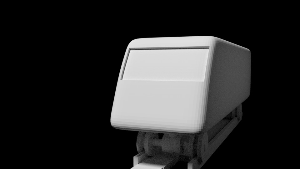 3D Printable SH-125 Large Diesel Locomotive preview image 2