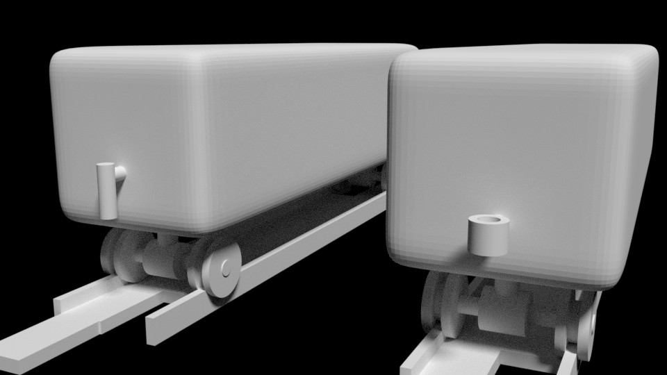 3D Printable SH-125 Large Diesel Locomotive preview image 3