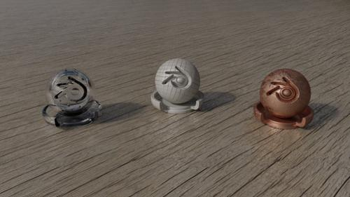 PBR Shader for Cycles Render Engine (Glass, Dialectric, Metal) preview image