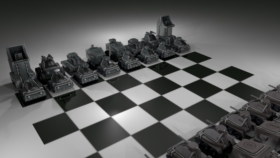 Scifi Chess preview image 1