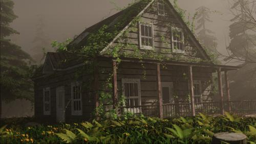 cabin in the wood preview image