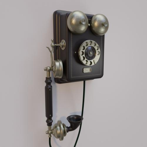 wall phone 1921-model preview image