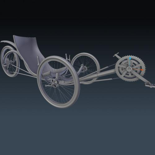 Recumbent Bicycle preview image