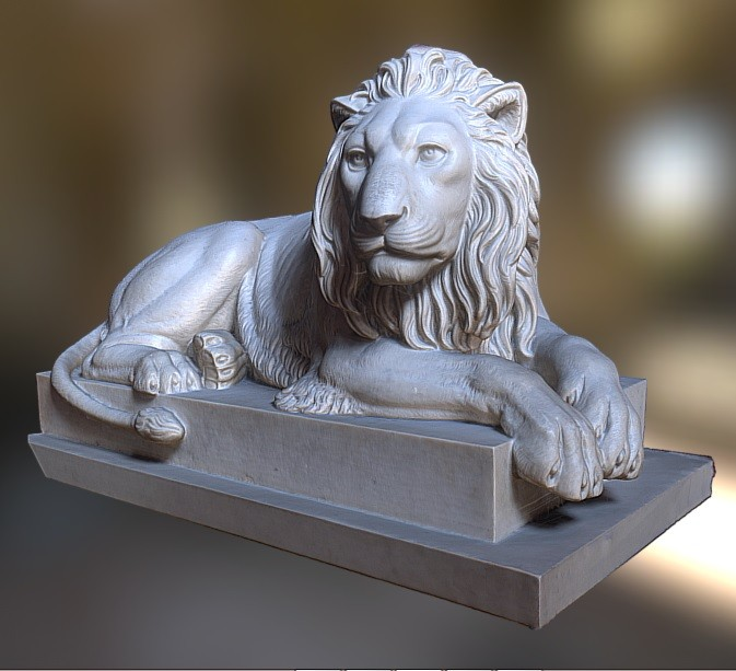 Recumbent lion preview image 1