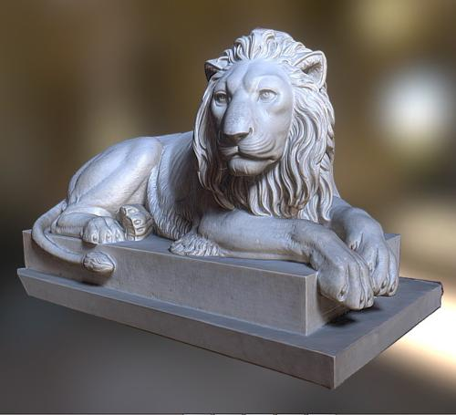 Recumbent lion preview image