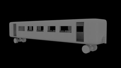 3D Printable BR-02 Express Coach preview image