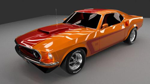 Ford Mustang 69 preview image