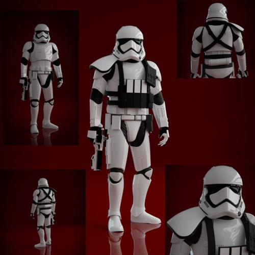 First Order Stormtrooper (Cycles Remake) preview image