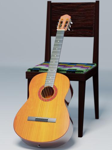 Classical guitar preview image