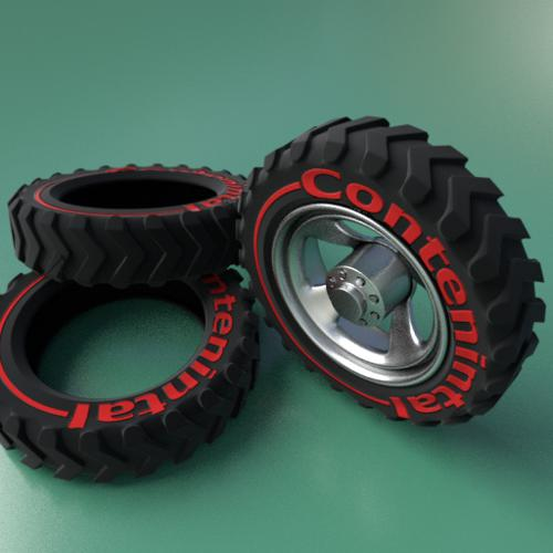 Tire and wheel preview image