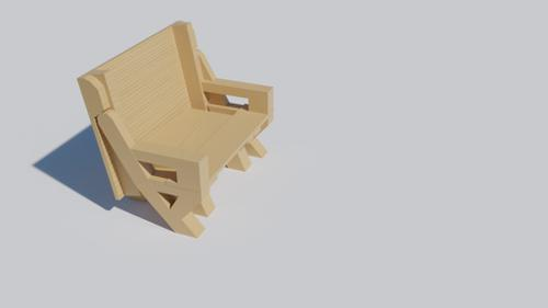 Folding Bench Table preview image