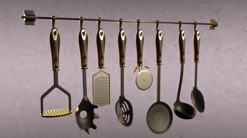 Kitchen utensils preview image