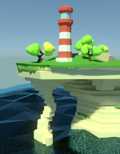 Lighthouse on Cliff preview image