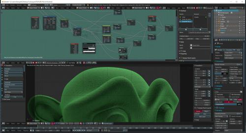 Fleece material (Procedural) preview image