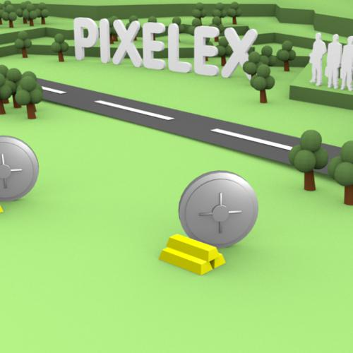 Pixelex intro animation preview image