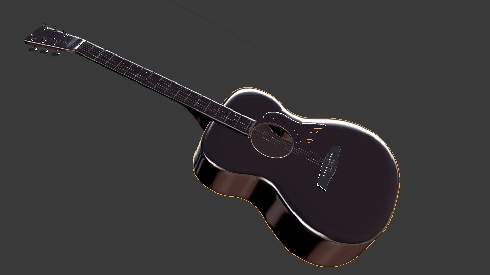 Acoustic Guitar preview image 5
