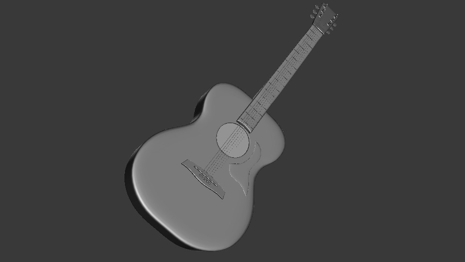 Acoustic Guitar preview image 3