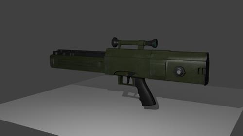 H & K G11 Caseless Rifle preview image