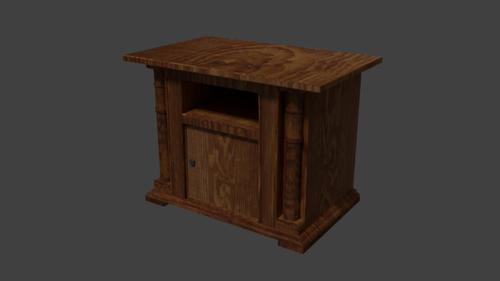 antique cabinet preview image