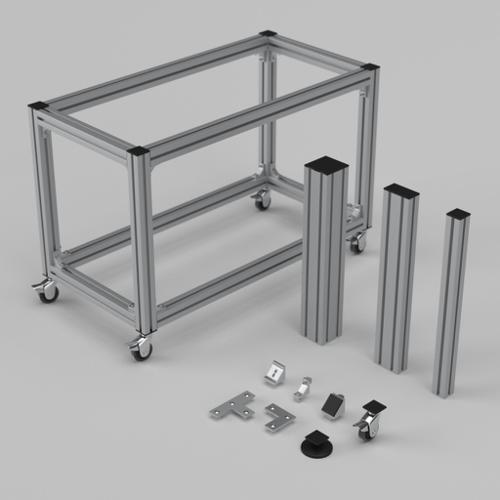 Aluminium profiles with accessories preview image