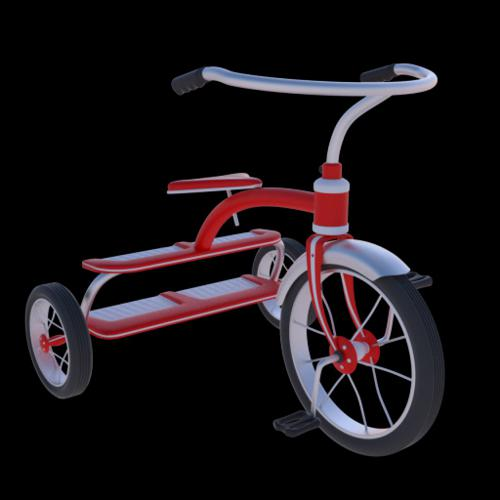 Tricycle with Aramature 2 preview image