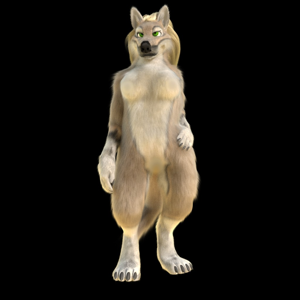Anthro wolf, fox, cat preview image 4