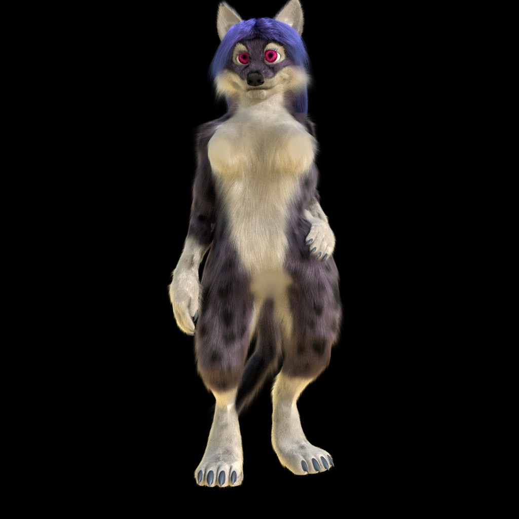 Anthro wolf, fox, cat preview image 2
