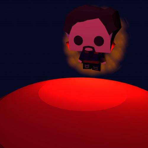 Doctor Strange Low Poly Chibi preview image