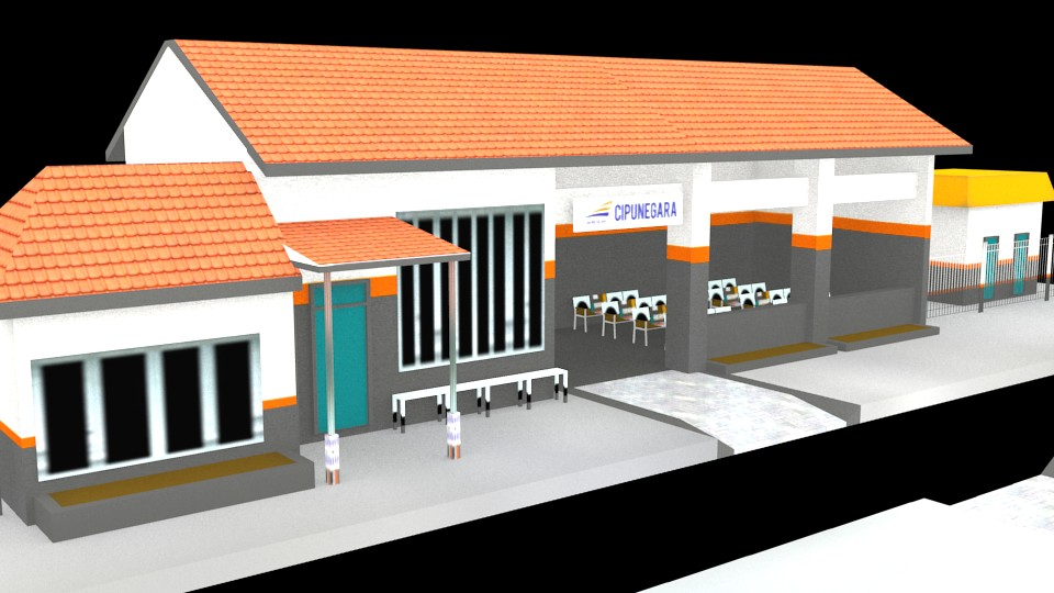 Cipunegara Train Station preview image 1