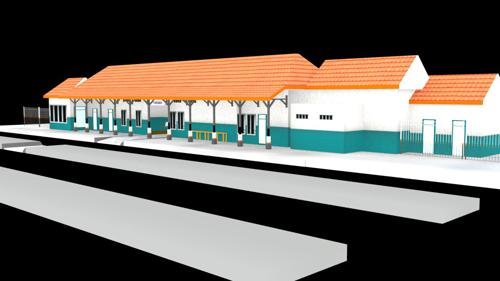 Pegaden Baru Train Station preview image