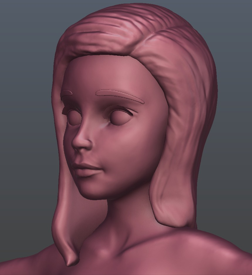 Stylized Girl Joan preview image 2
