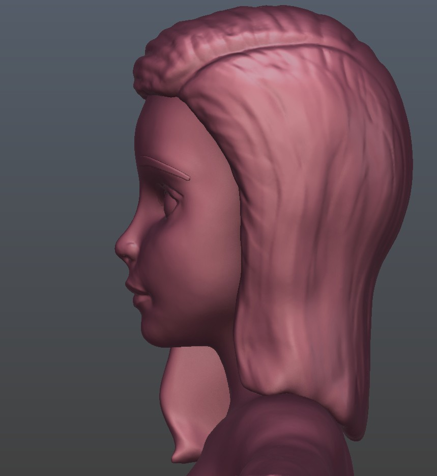 Stylized Girl Joan preview image 4
