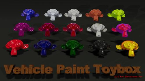 Vehicle Paint Toy box preview image