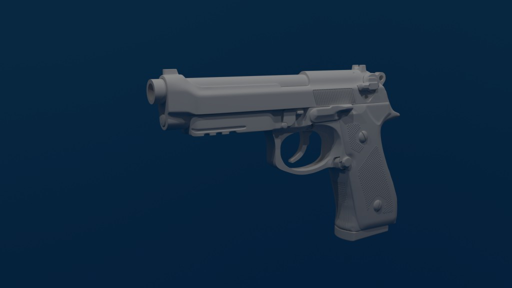 Beretta M9A3 basic preview image 1