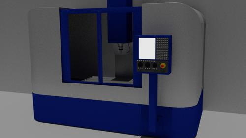 CNC Mill preview image