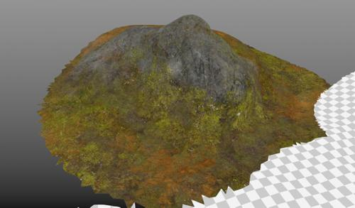 PBR Forest Ground Rock preview image
