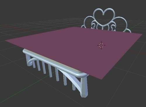 Simple Double Bed preview image